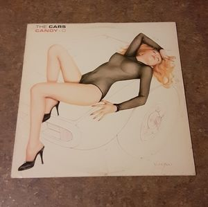 """Other - Vintage The Cars """"Candy - O"""" Vinyl LP Album"""